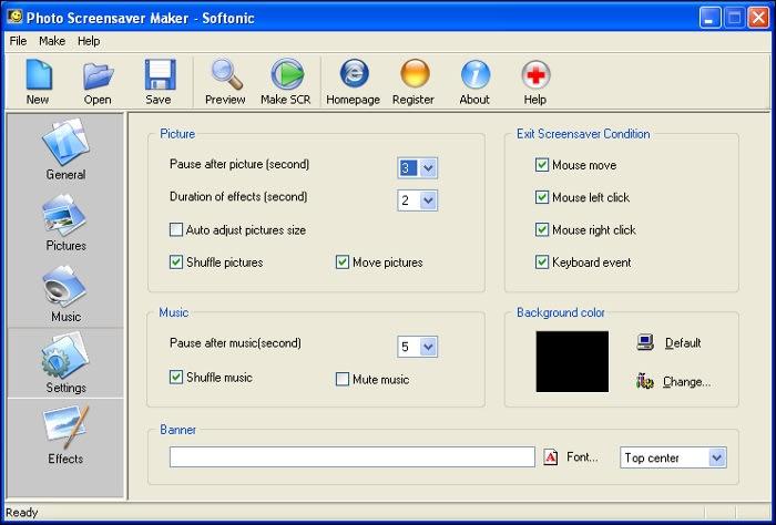 Photo Screensaver Maker