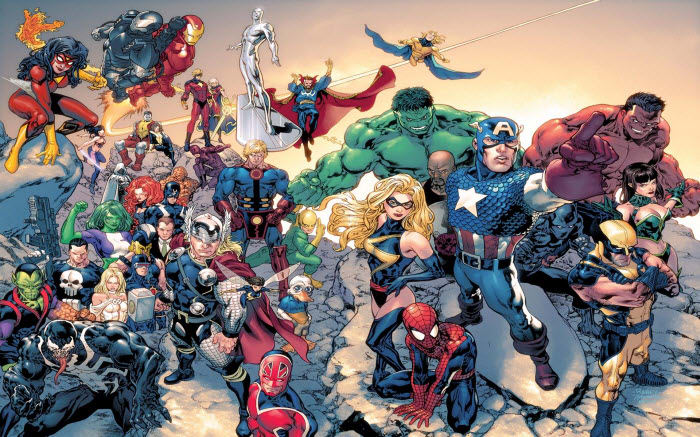 Th 232 Me Marvel Comics T 233 L 233 Charger