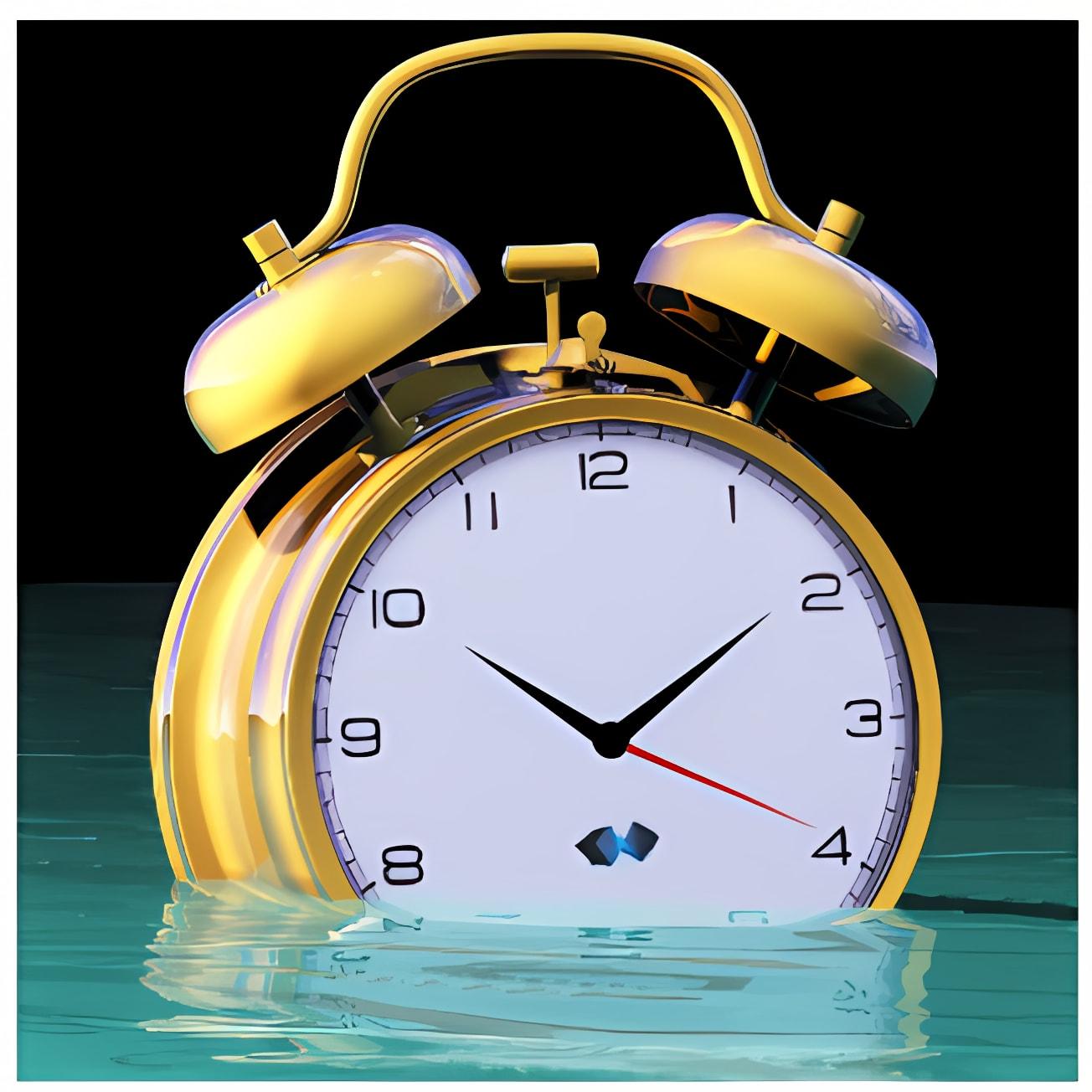 Floating Desktop Clock