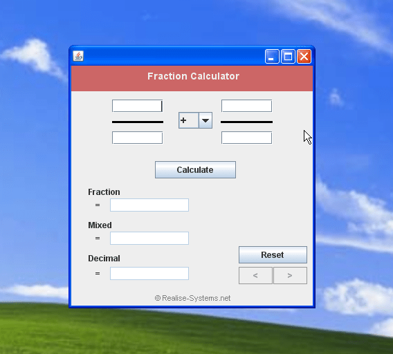 Free Fraction Calculator