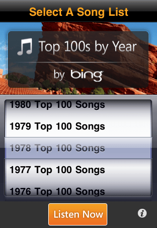Top 100s by Year