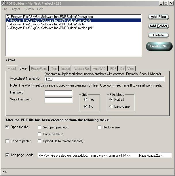 PDF Builder