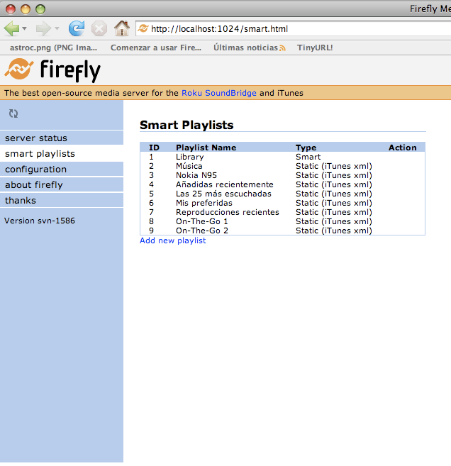 Firefly Media Server