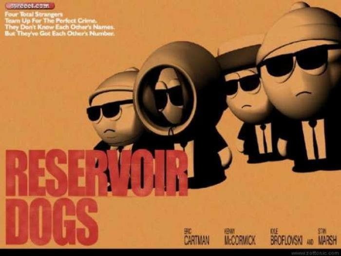 South Park: New Reservoir Dogs Wallpaper