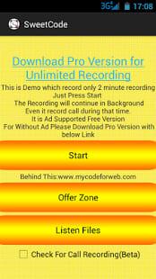 Hidden Call Audio Recorder