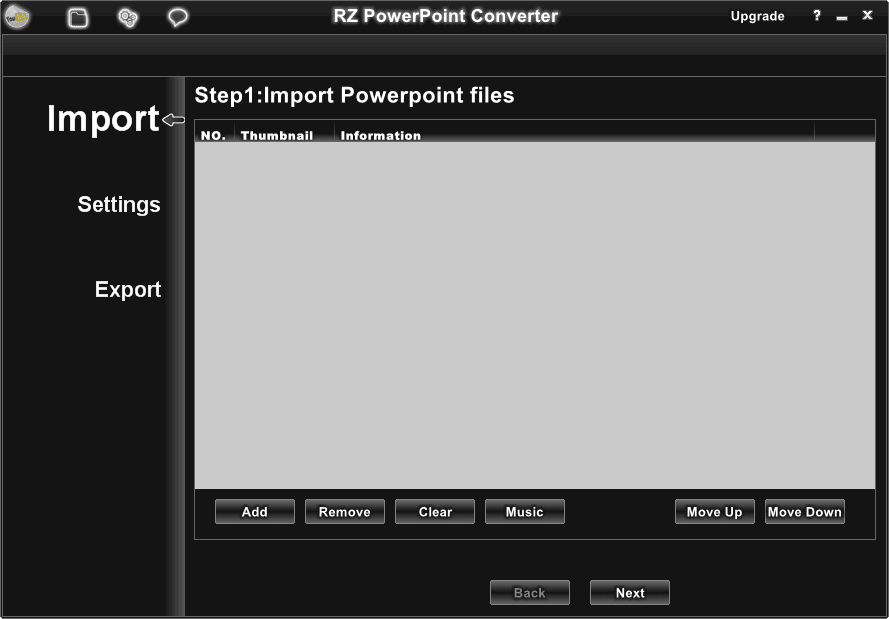 RZ PowerPoint Converter