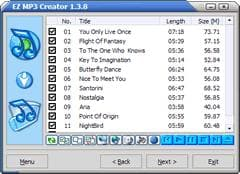 EZ MP3 Creator