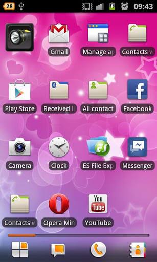 Pink Hearts Live Wallpaper