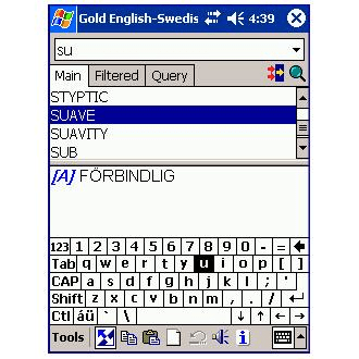 LingvoSoft Gold Talking Dictionary English-Swedish