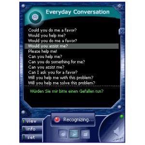 Ectaco Voice Translator Englisch - D / F / E