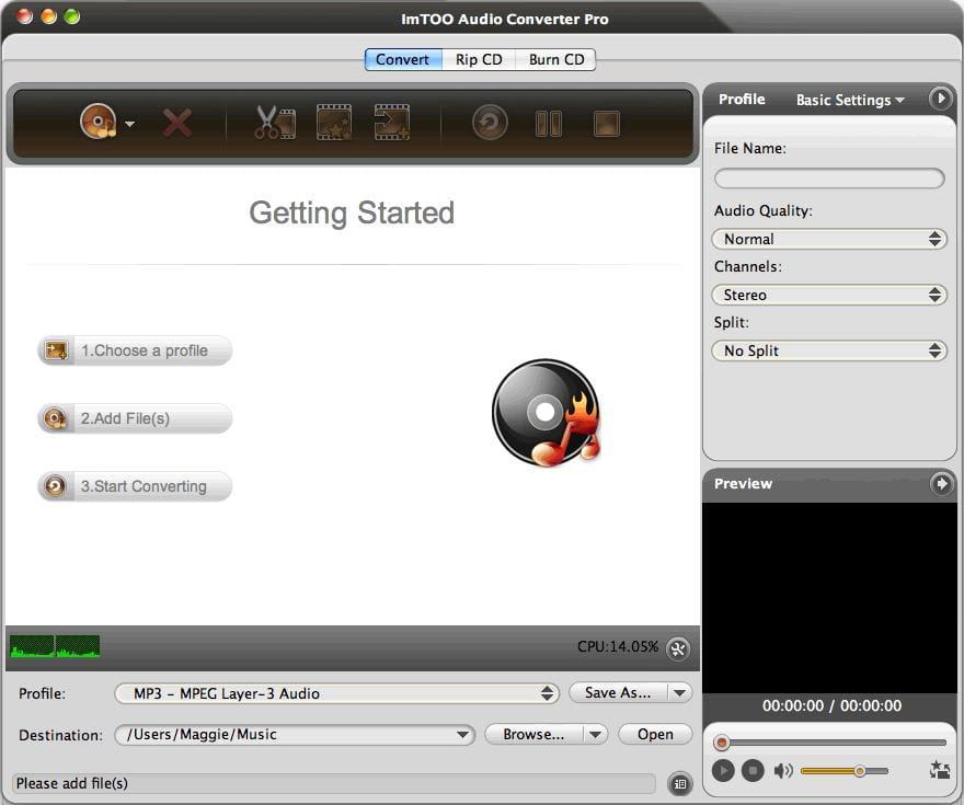 ImTOO Audio Converter Pro