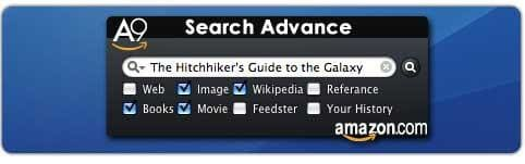 A9 Search Advance