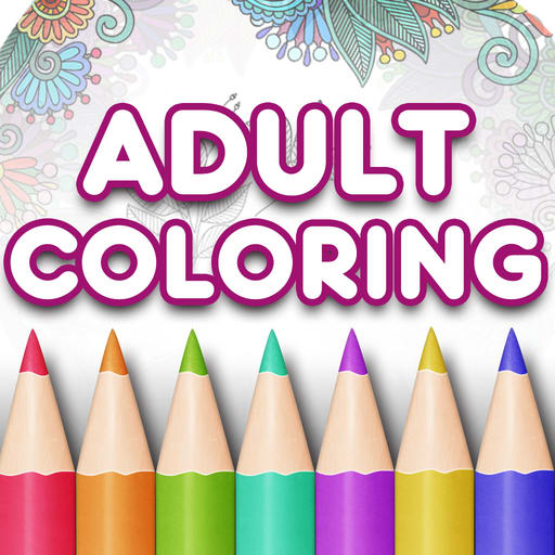 Adult Coloring Book Premium