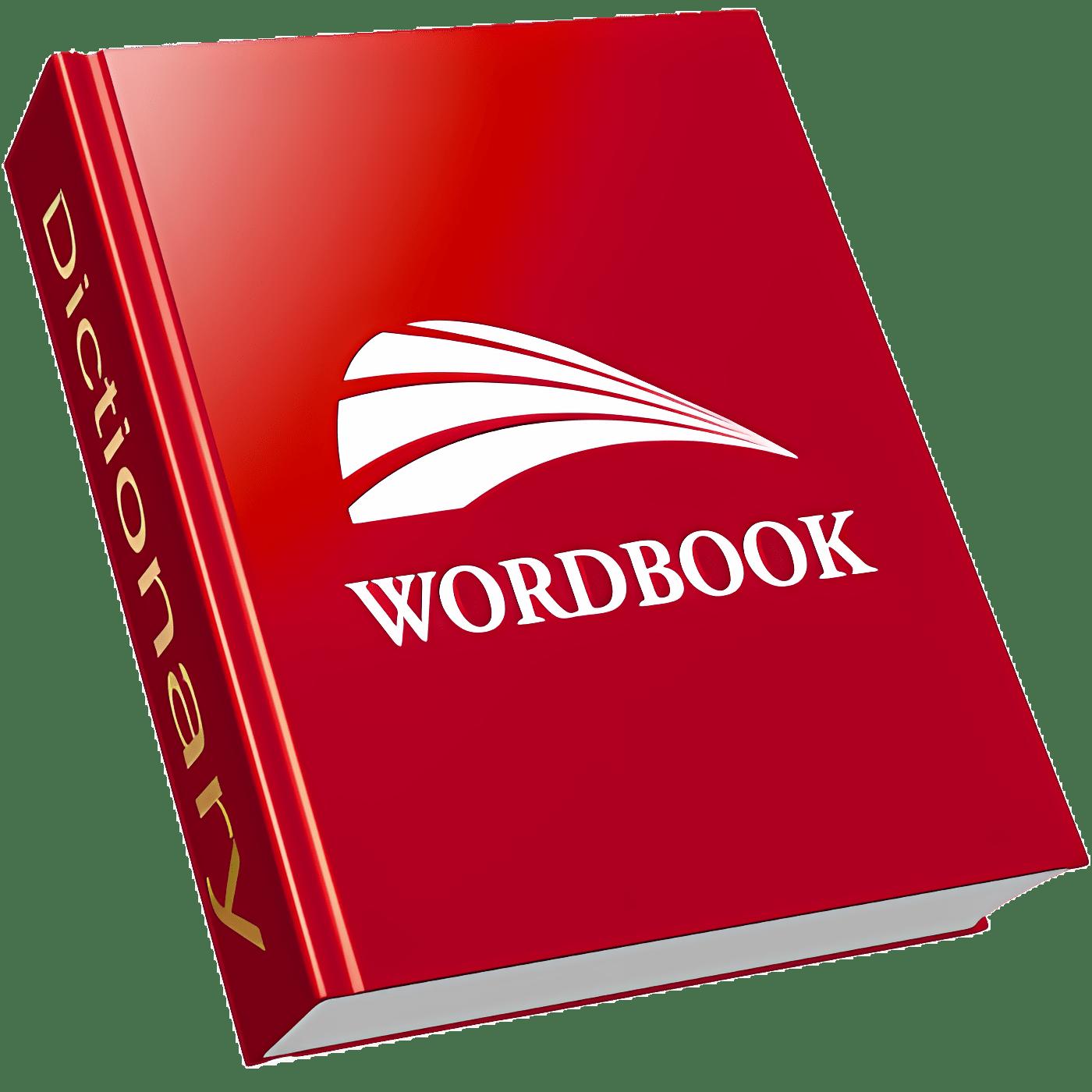 WordBook English Dictionary and Thesaurus
