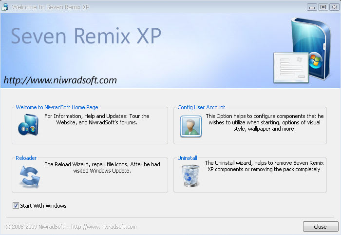 Seven Remix XP