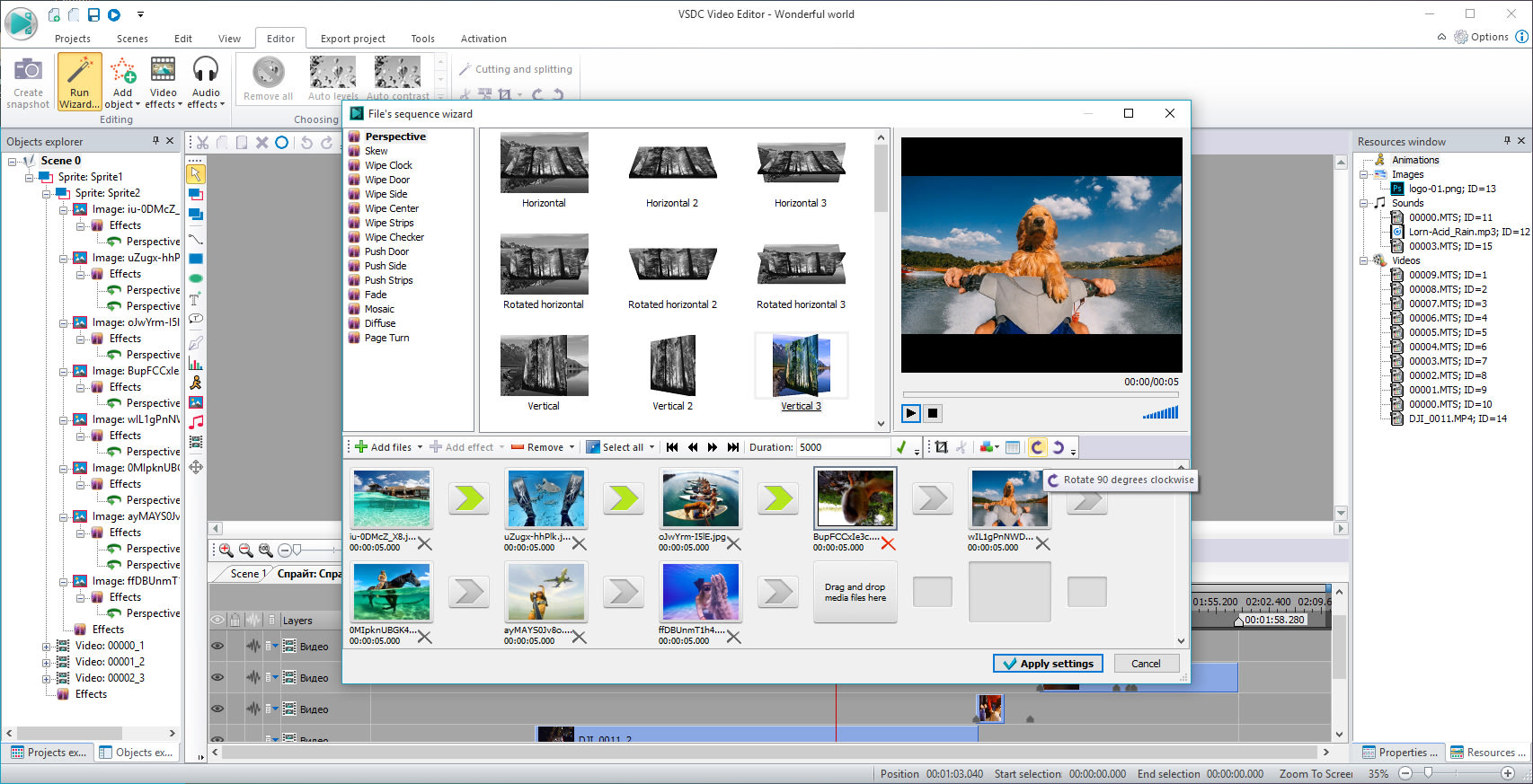 how to change language on windows movie maker 2.6