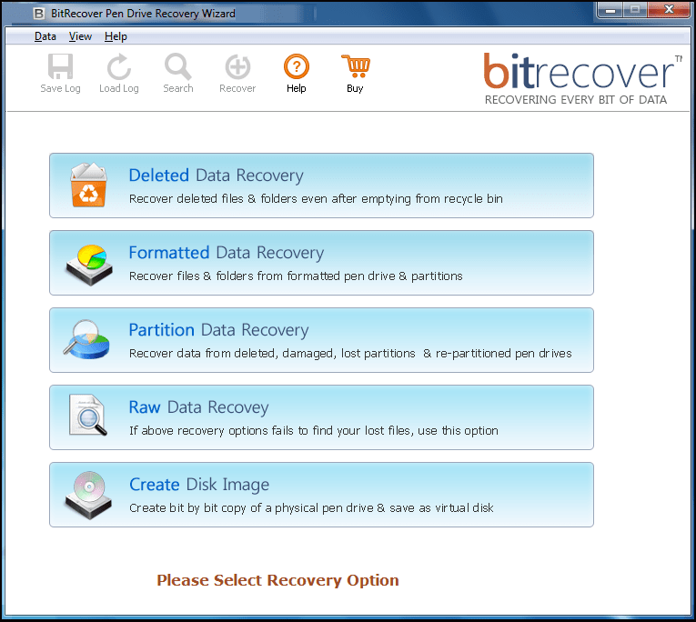 Pen Drive Recovery Wizard