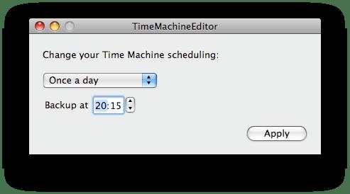 TimeMachineEditor