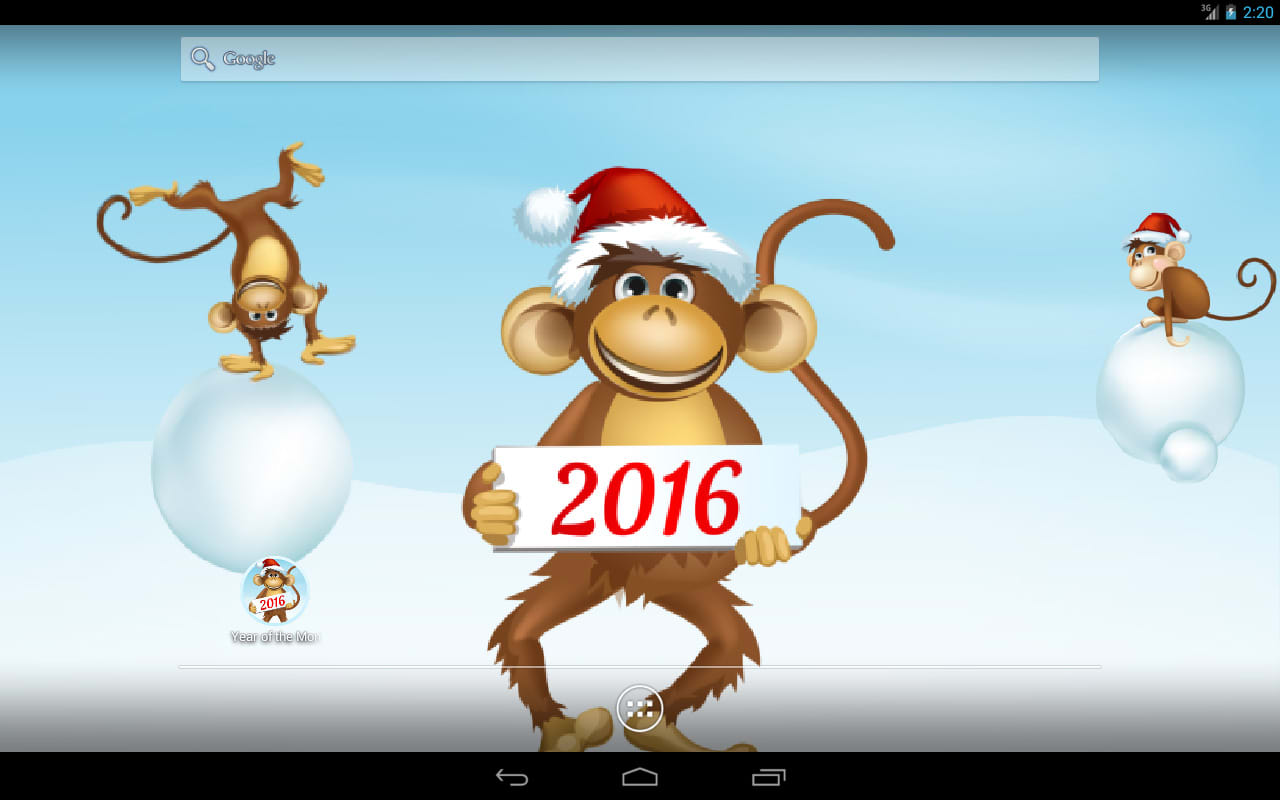 Year of the Monkey Free LWP
