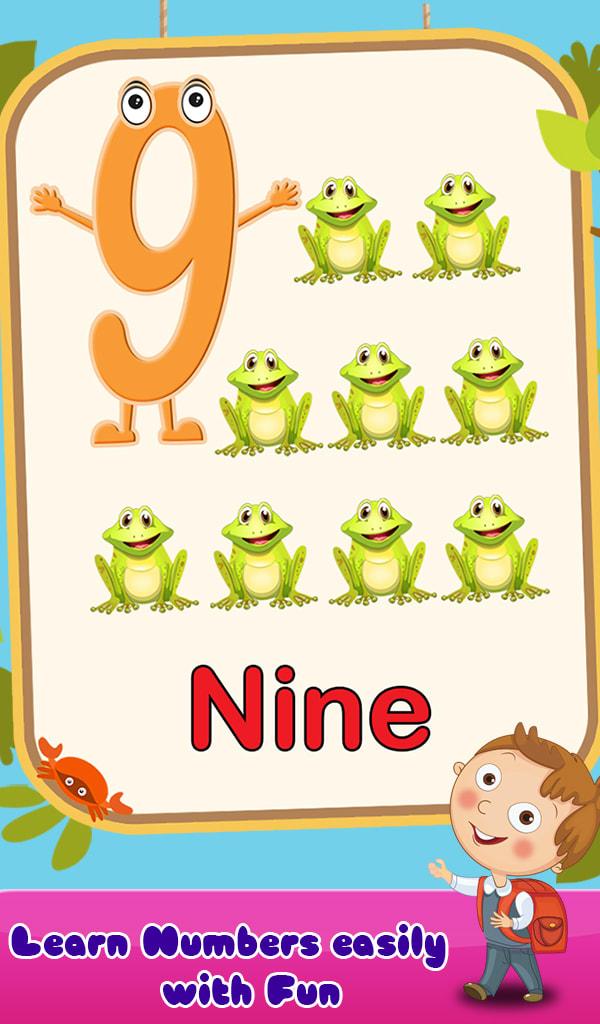Preschool Kids ABC & Numbers