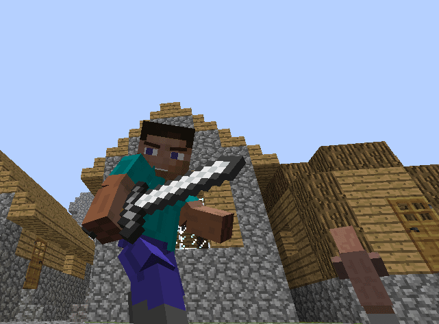 Animated Player Mod for Minecraft