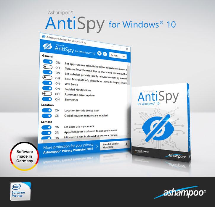 Ashampoo AntiSpy for Windows 10