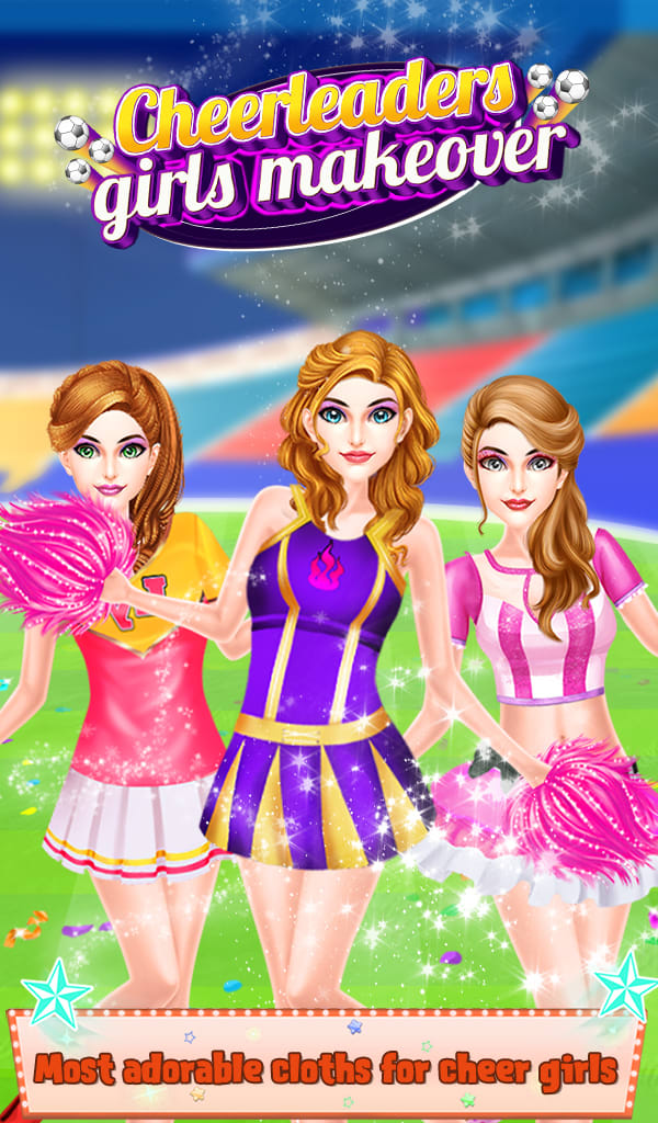 CheerLeaders Girls Makeover