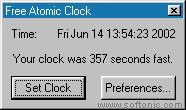 Free Atomic Clock