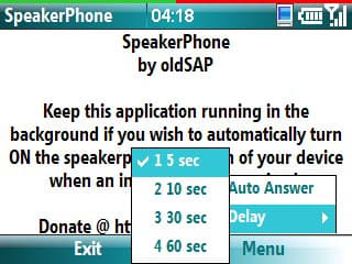 SpeakerPhone – Auto On