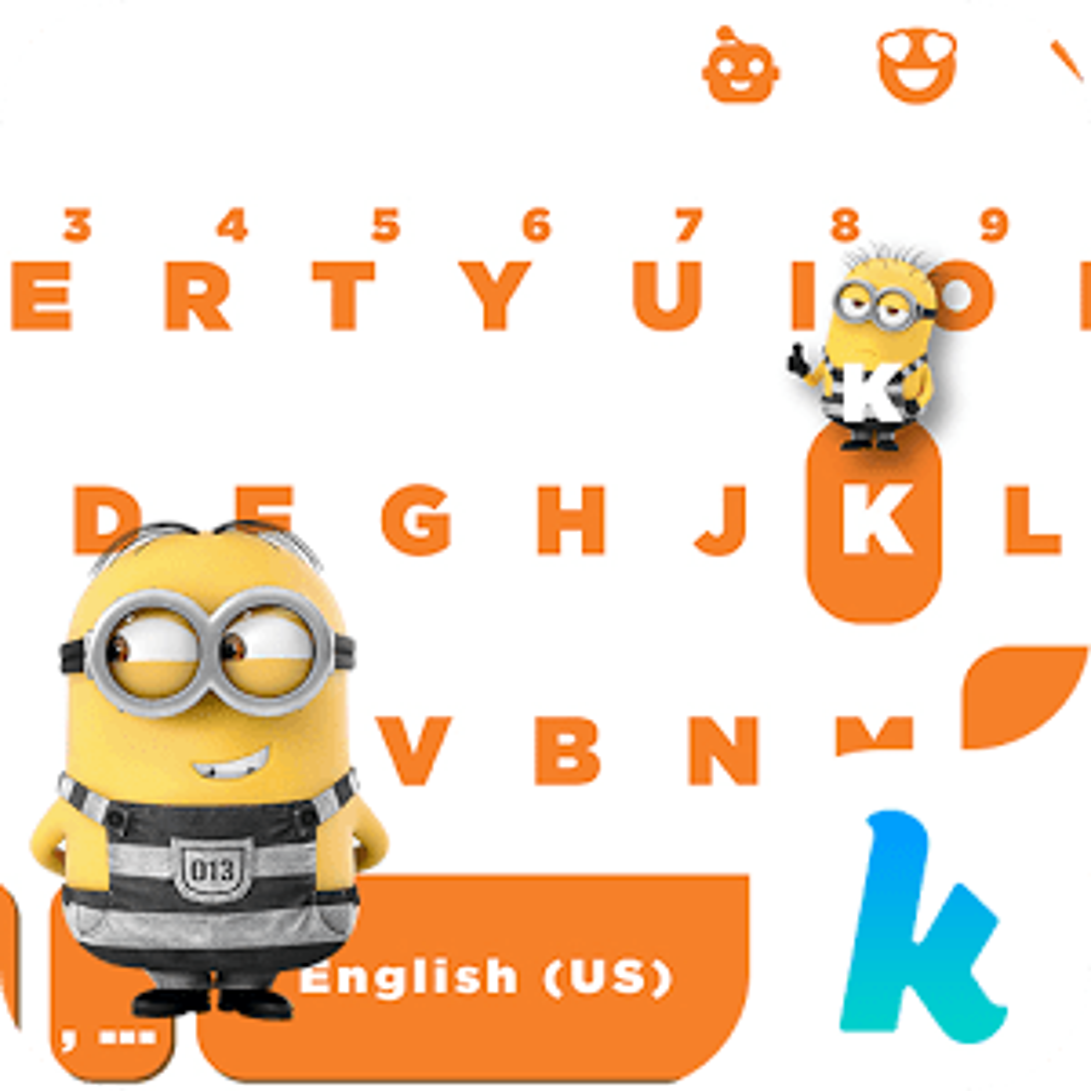 Despicable Me Kika Emoji Theme 3.0