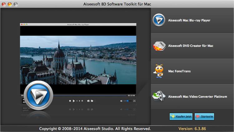 Aiseesoft BD Software Toolkit für Mac