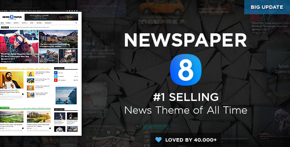 Newspaper - Theme for Wordpress