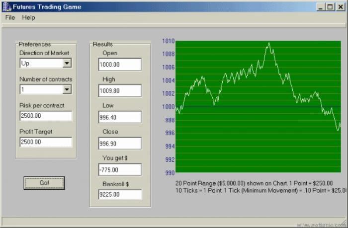 Trading Simulation Game