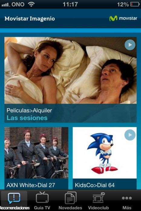 Movistar Imagenio Guía TV