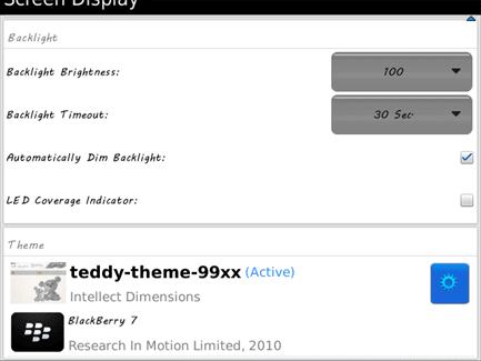 Teddy Theme