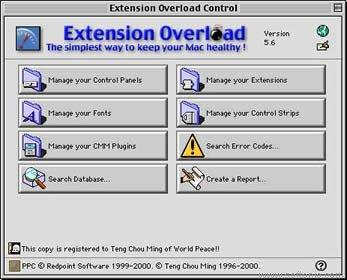 Extension Overload