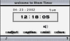 Atom Timer