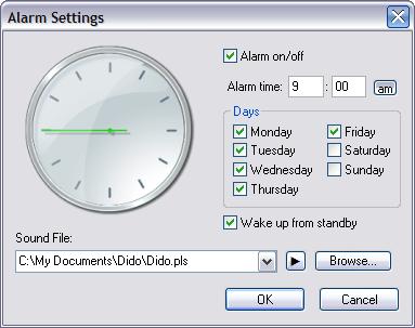 Analogue Vista Clock