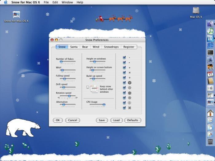 Snow for Mac OS X