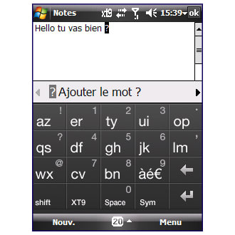 HTC Touch Keyboard