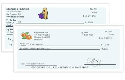 ezCheckPersonal Check Printing Software