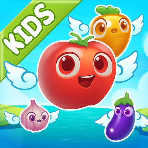 Popping fruit balloon for kids
