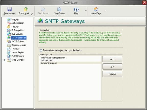 Fast Mail Server