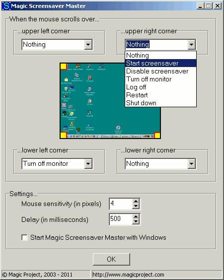 Magic Screensaver Master