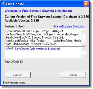 Free Spyware Scanner