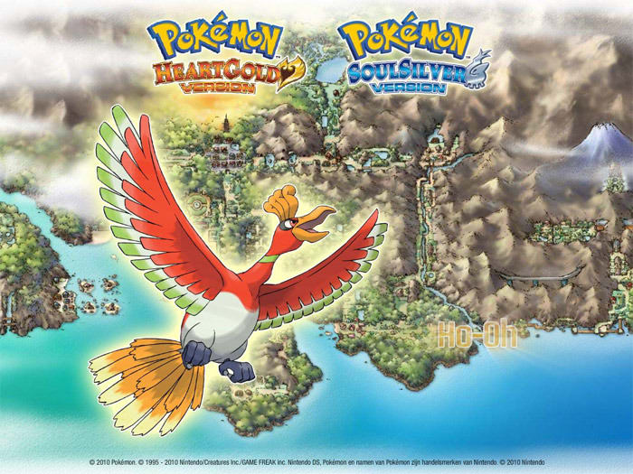 Salvapantallas: Pokémon HeartGold and SoulSilver