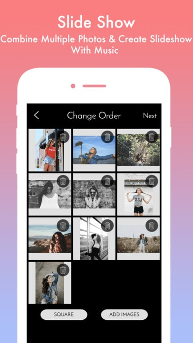 Instazz Photo & Video Editor - No Crop Pic Layout