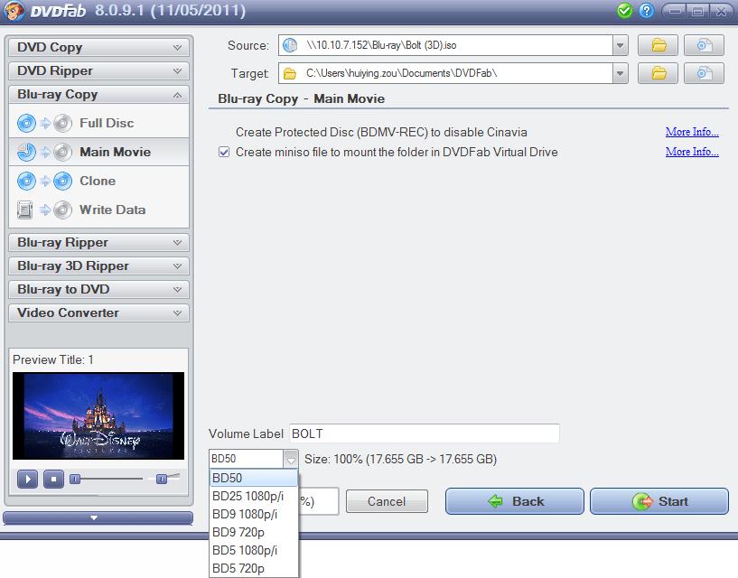 DVDFab Copy Suite