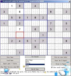 Readmesoft Sudoku for Windows