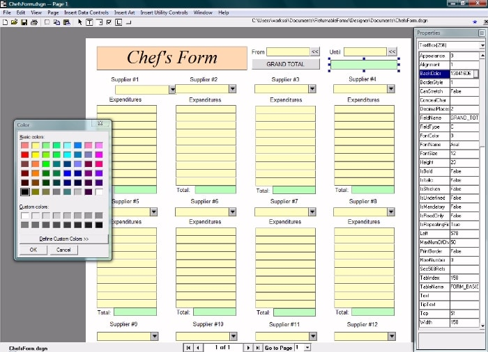 Returnable Forms System